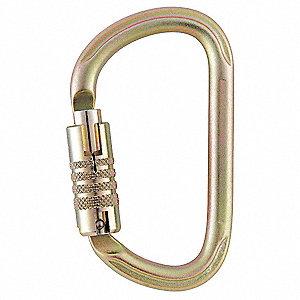 Petzl Carabiner Steel Triple Action Auto Lock 6ter4