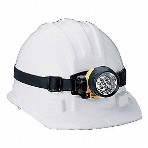Replacement Rubber Hardhat Strap,Black