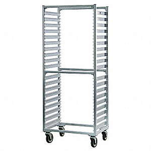 Full Bun Pan Rack,Side Load,38 Capacity