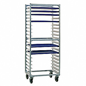 Full Bun Pan Rack,Side Load,20 Capacity