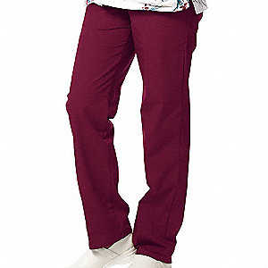 Women's Slack, Burgundy, 4XL