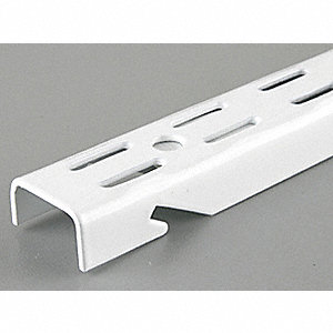 70 IN White Dual Slot Standard