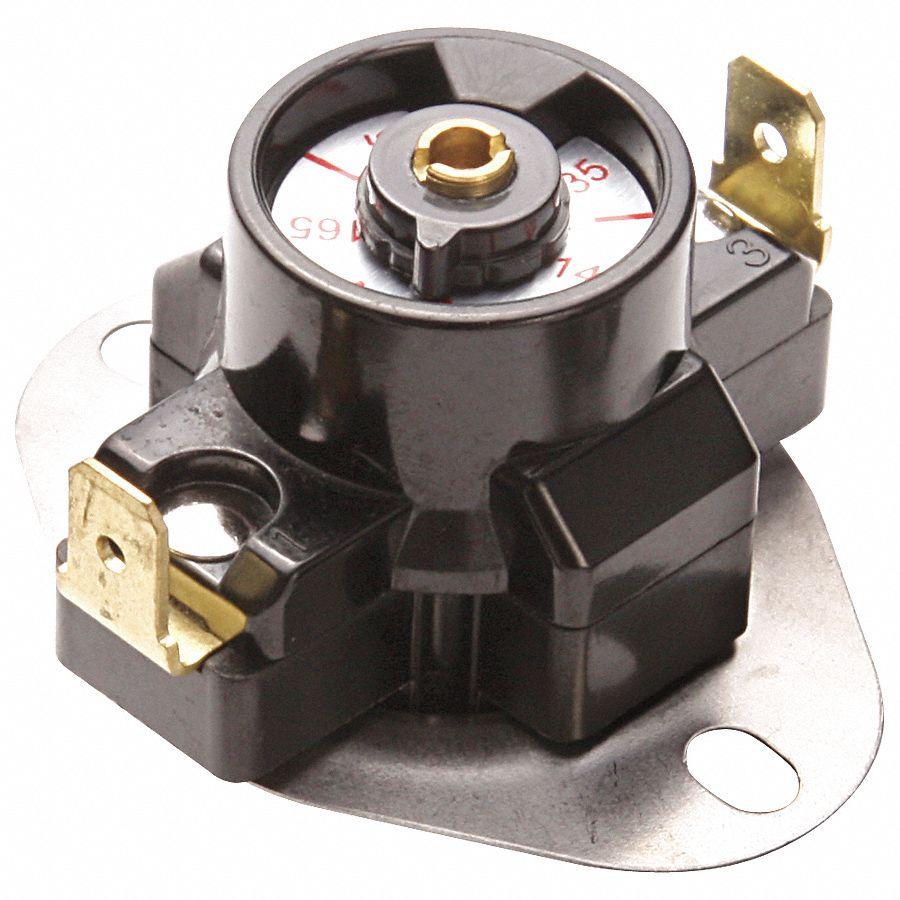 Grainger Approved Snap Disc Control Adjustable Fan