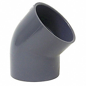 Elbow,PVC,45 Degree,4 In.
