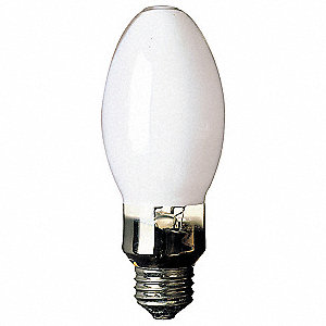 HID Lamp, Metal Halide Lamp Type, ED17 Lamp Shape, Open/Enclosed Fixture Type, 100 Watts