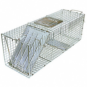 Live Animal Trap, Used For Ground Hogs, Wood Chucks, Opossums, Raccoons, Muskrats, Armadillos, Skunk