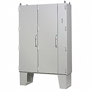 "Carbon Steel Disconnect Enclosure, 63.00"" Height, 63.00"" Width, 15.70"" Depth"