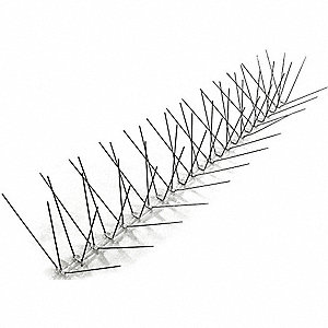 Bird Repellent Spikes, Weight: 3 lb., Used For Bird Control