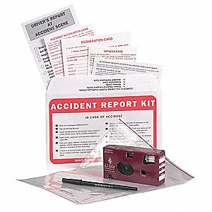 Accident Report Kit w/Camera