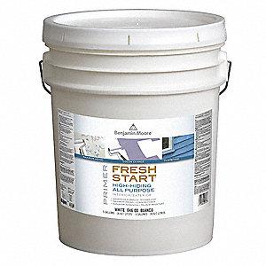 Benjamin Moore Primer White Interior Exterior Paint 5 Gal 6wtd4 004600005 Grainger