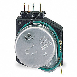 Defrost Timer Control, 120VAC Voltage, Defrost Time (Minutes): 21