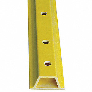 Sign Post,Composite,6 ft. L,2 In. W