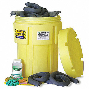 Spill Kit,Can,41 gal.,Oil Only