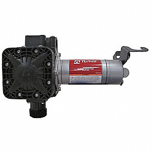 1/4 HP Glass Filled Polypropylene Electric Operated Drum Pump, 13 GPM, 360 to 2600 RPM