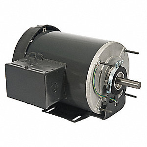 1/2 HP General Purpose Motor,Split-Phase,1725 Nameplate RPM,Voltage 115,Frame 56