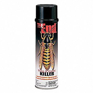 Wasp and Hornet Killer,Aerosol,12 oz.