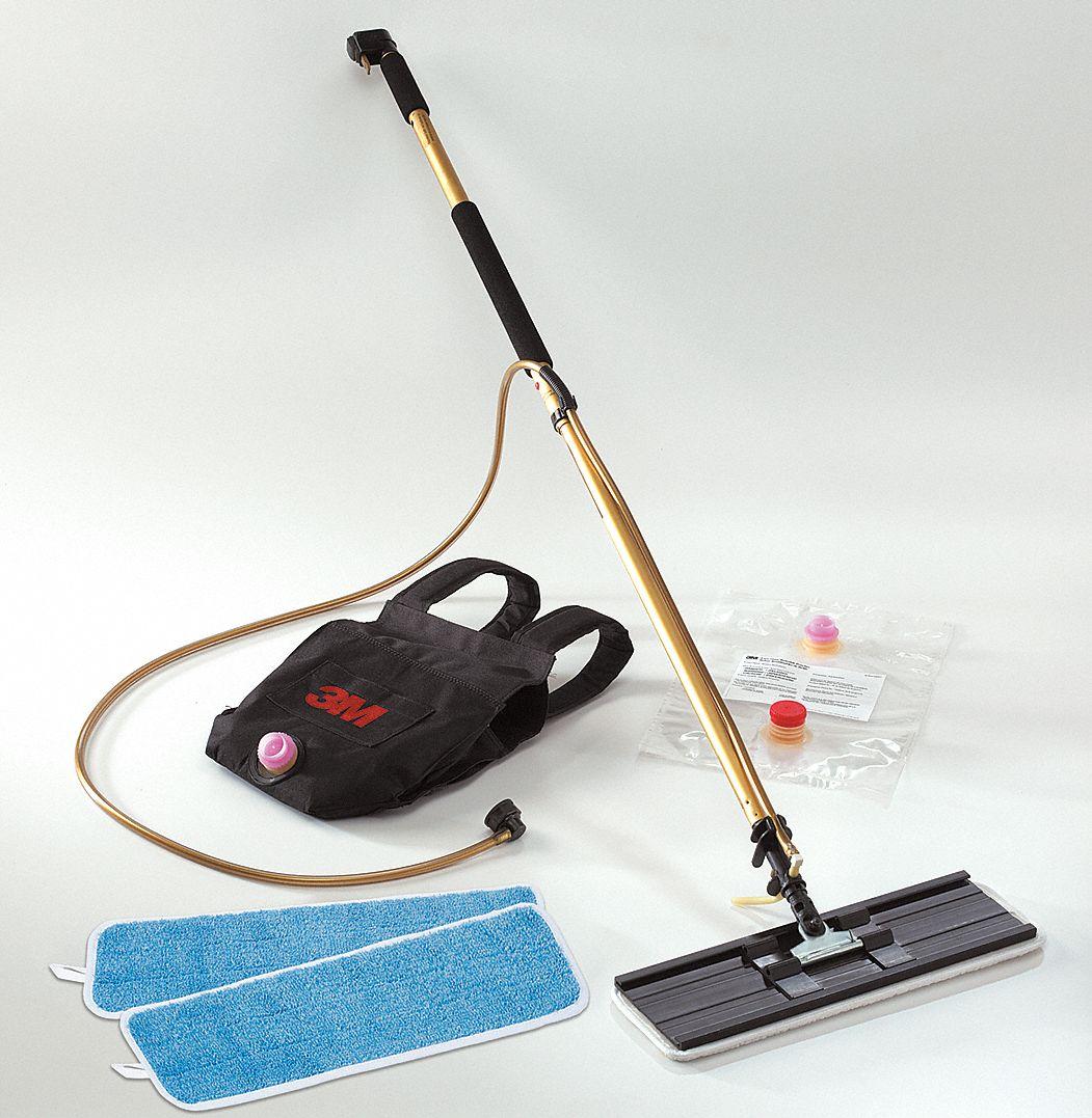 3m Floor Finish Applicator Kit 18 In Pad 6xu16 55433