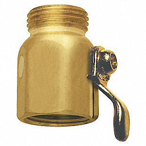 Brass Flow Control Valve, For Use With Hose and Nozzles