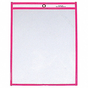 Shop Ticket Holder,9x12,Neon Pink,PK15