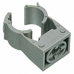 "Conduit Hanger, 3/4"" Nominal Conduit/Pipe, For Use With Studs, Struts, and Threaded Rods"