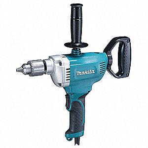"1/2"" Electric Drill, 8.5 Amps, Spade Handle Style, 600 No Load RPM, Voltage 120VAC"