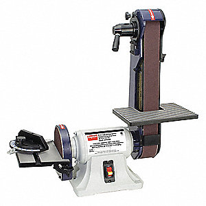 Belt/Disc Sander,1/3 HP,120V