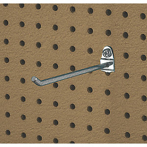 Single Rod Pegboard Hook, Package Quantity 5