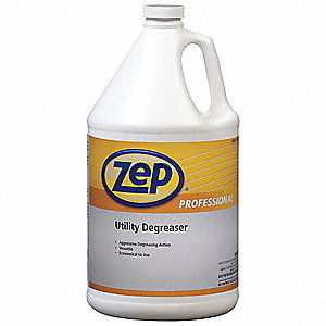 Unscented Utility Degreaser, 1 gal. Bottle, Package Quantity 4