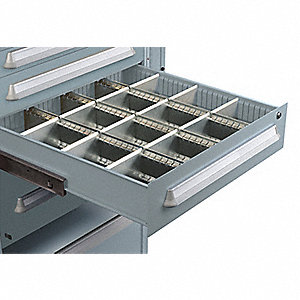Modular Drawer Cabinet Divider, For Drawers w/Height (In.) 7