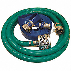 Pump Hose Kit,Quick Coupling,2 In ID