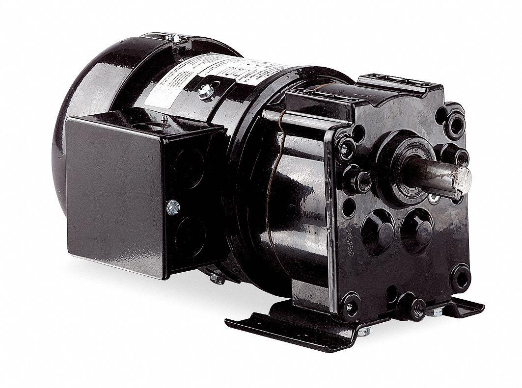 Dayton ac gearmotor 30 rpm tefc 115 230v 6z818 6z818 for Dayton gear motor catalog
