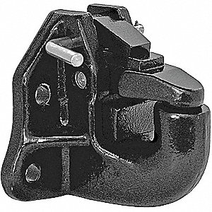 Air Compensated Pintle Hook, 45 Ton