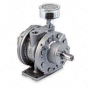 Gast Air Motor 4 Hp 128 Cfm 3000 Rpm 6zc98 6am Frv 62