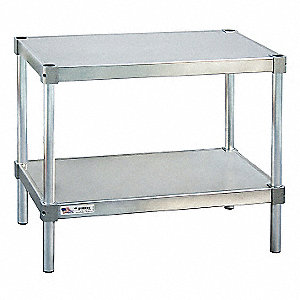 "Equipment Stand, 18"" Width, Aluminum800 lb. Load Rating"