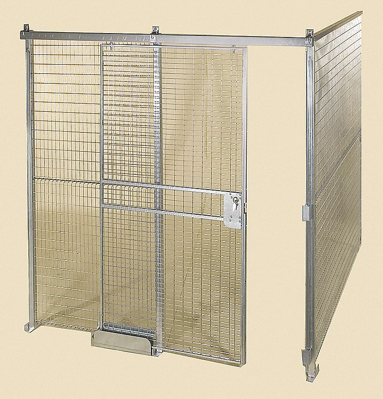 Folding Guard Wire Partition Kit Predesigned 2 Sided 4