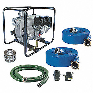 Engine Drive Pump Kit,11 HP,Honda Engine