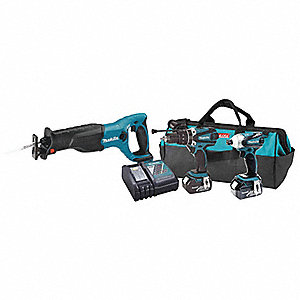 Cordless Kit with Reciprocating Saw
