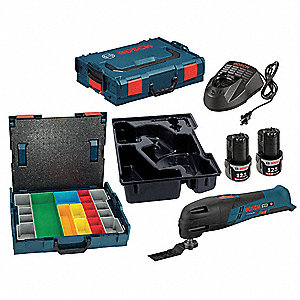 Cordless Drill,Osc Bare Tool,Carrying Case, Voltage 12.0 Li-Ion, Number of Tools 3