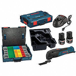 Battery Pack/Charger Kit,Osc Bare Tool,Carrying Case, Voltage 12.0 Li-Ion, Number of Tools 3