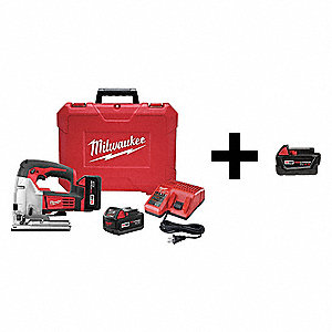 Cordless Jigsaw Kit, Voltage 18.0 Li-Ion, Battery Included