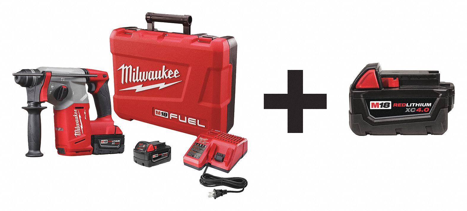 Milwaukee Cordless Rotary Hammer Kit 1 Tool 7dy02 2712