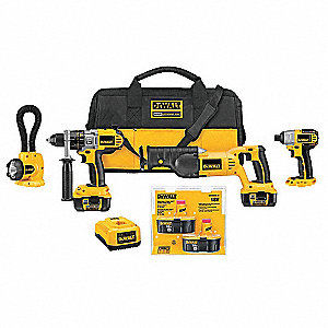 Cordless Combination Kit,18.0V