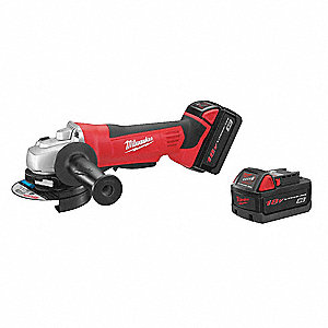 Cordless Angle Grinder Kit,18V,4-1/2 In.