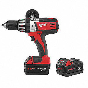 Cordless Hammer Drill Kit, Voltage 18.0 Li-Ion, Battery Included
