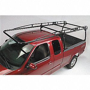 Over Cab Ladder Rack Combination, Steel, 1700 lb. Load Capacity, Adjustable Up To