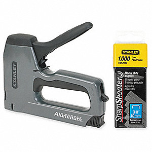 Staple/Nail Gun,Manual,Hvy Duty,27/64in