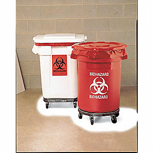 Biohazard Waste Container,27-1/4 In. H