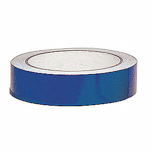 "Reflective Marking Tape, Solid, Roll, 1"" x 30 ft., 1 EA"
