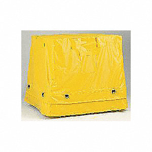 Containment Tarp,53-1/2 In. L,Yellow