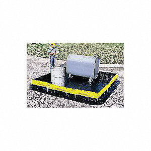 Collapsible Wall Containment Brm,5385gal